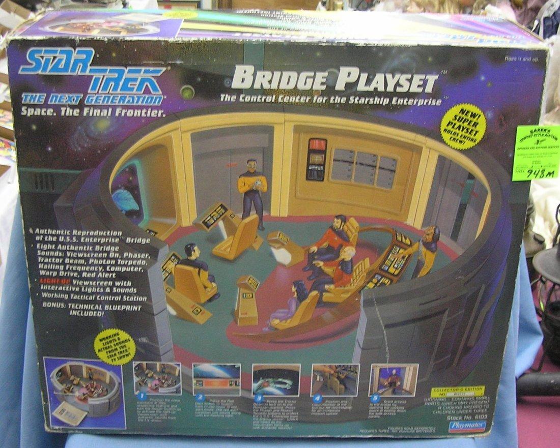 Star Trek bridge play set