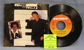 Vintage Paul McCartney and Stevie Wonder record album