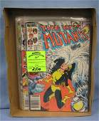 Collection of vintage Marvel New Mutants comic books