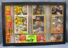 Baseball card packs this group includes Will Clark