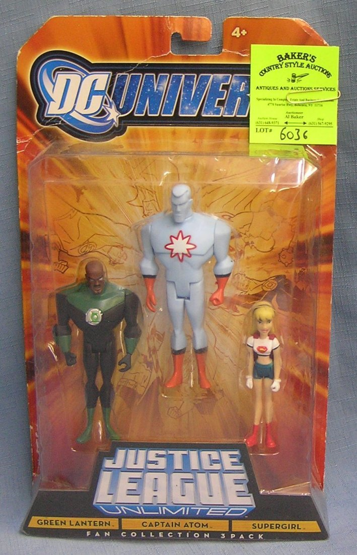 DC Universe Justice League action figure set