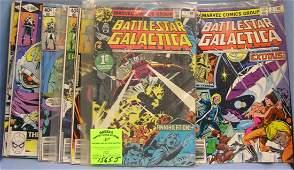 Battle Star Gallactica comic books