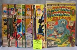 Vintage Marvel Capt America comic books