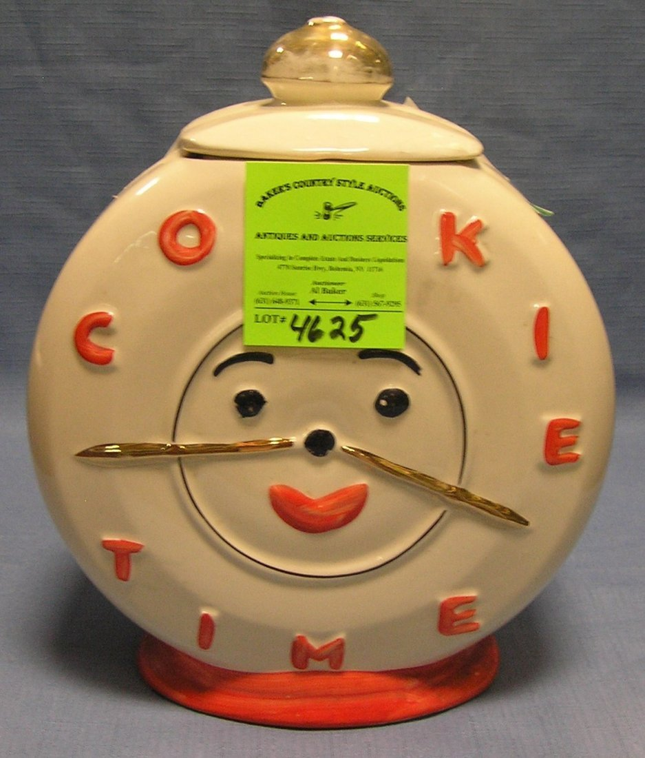 Cookie time vintage cookie jar