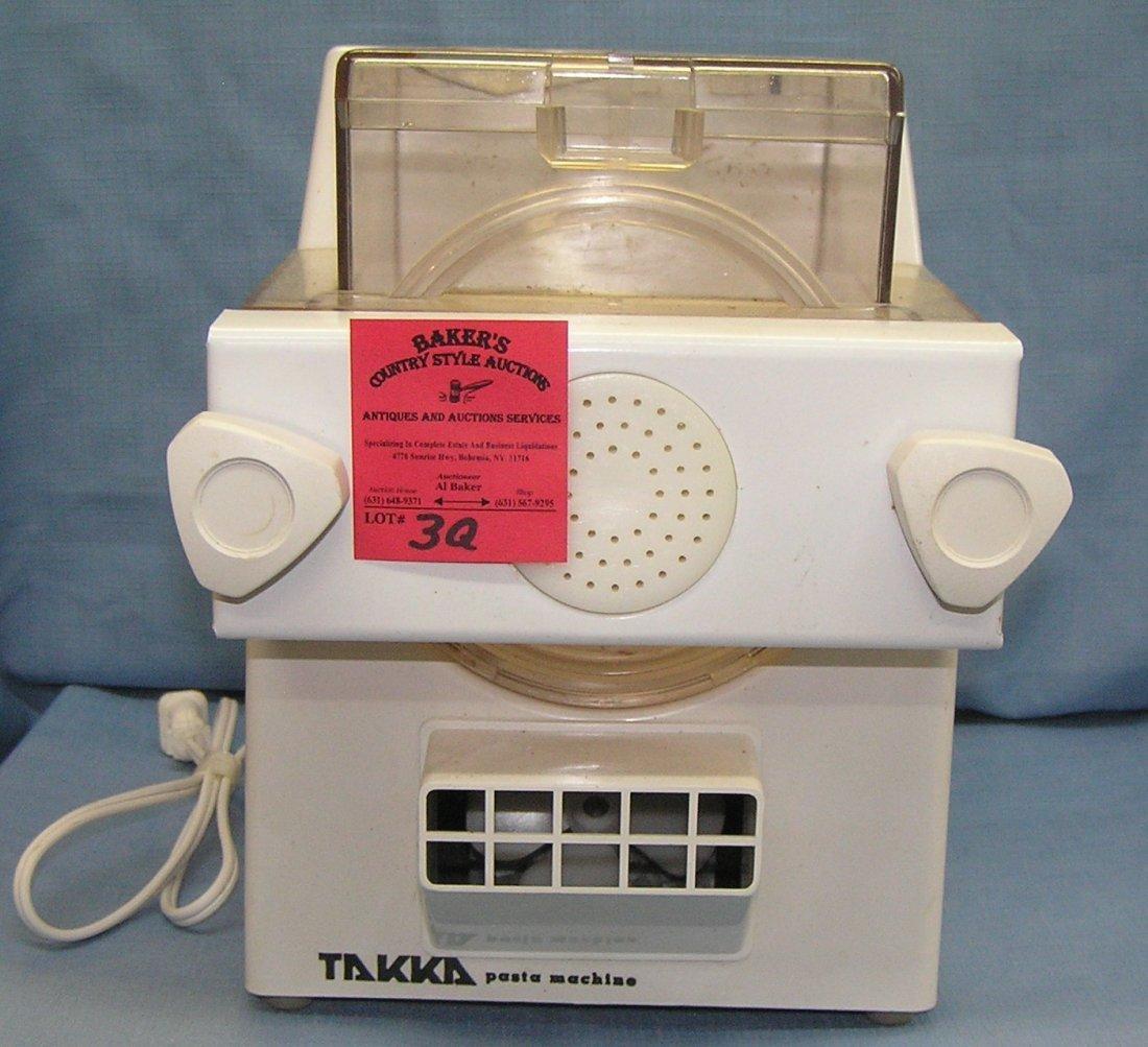 Commercial grade Takka pasta machine