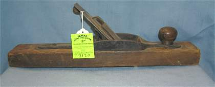 Antique wood workers plane by Stanley Tool Company