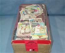 Estate box full of vintage Baseball cards