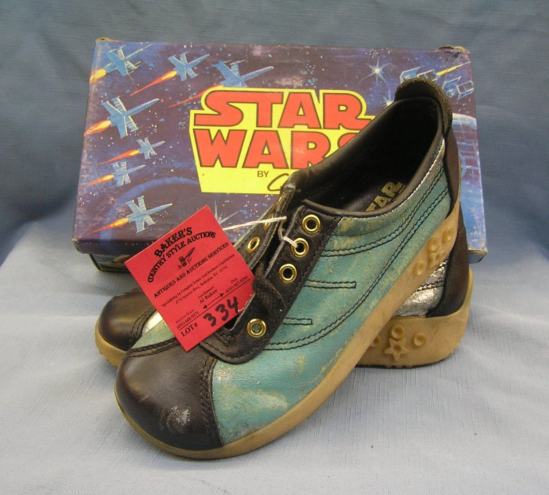 Original Star Wars sneakers by Clarks with original box