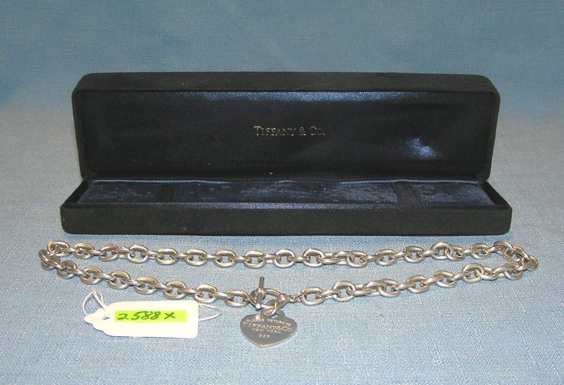 Tiffany and Co. 925 silver necklace