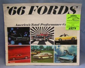 Vintage 1966 Ford Americas Total Performance Cars