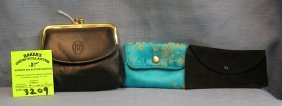 Group Of Three Vintage Purses And Cases