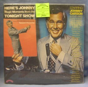 Vintage Jonny Carson Tonight Show Record Album