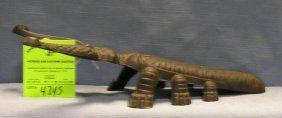 Early Cast Iron Beetle Bug Shaped Boot Jack