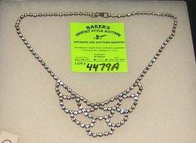Quality Rhinestone Necklace