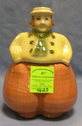 Early Dutch Boy Cookie Jar By Shawnee Art Pottery