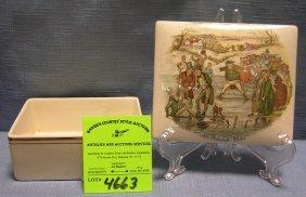 Vintage Mr. Pickwick Trinket Box