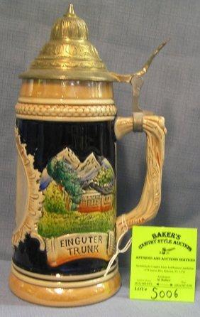 Vintage Souvenir Of Bermuda Beer Stein
