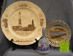 Group Of Vintage Atlantic City Nj Souvenirs