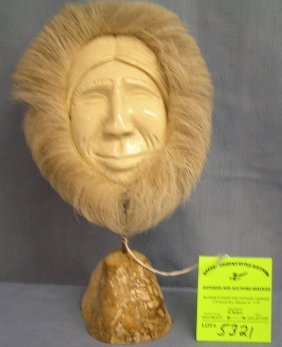 American Indian Handmade Bone Figure