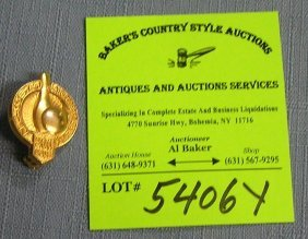 Vintage Bowling Award Pin