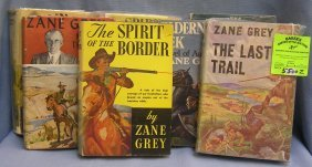 Collection Of Early Zane Gray Western Books
