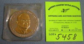 Vintage Harry S. Truman Anniversary Medallion