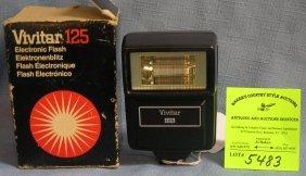 Vivitar Electronic Flash In Original Box