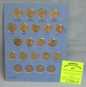 Group Of Vintage Jefferson Nickels 1962-1976