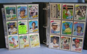 Large Collection Of Vintage Topps Baseball Cards