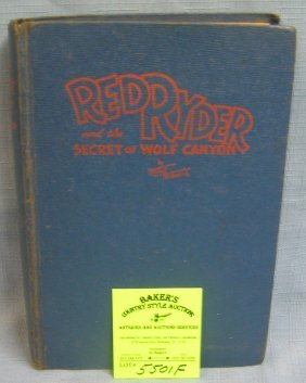 Vintage Red Rider And The Secret Of Wolf Canyon
