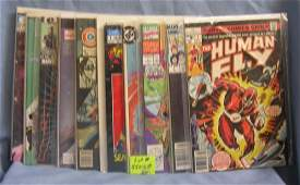Group of vintage first edition comic books