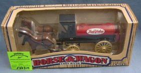 True Value Hardware Stores Horse Drawn Wagon