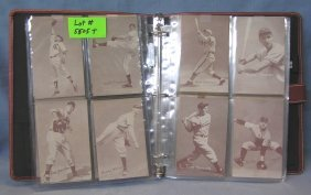 Large Collection Of Exhibet Baseball All Star Photo