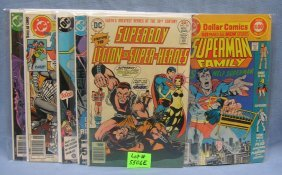 Group Of Vintage Superman Comic Books
