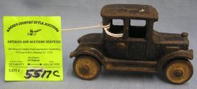 Early Arcade Cast Iron Model T Ford Toy Car
