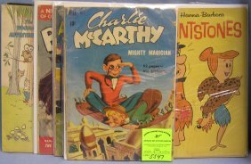Group Of Early Comic Related Comics
