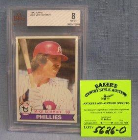 1979 Topps Graded Mike Schmitt Baseball Card