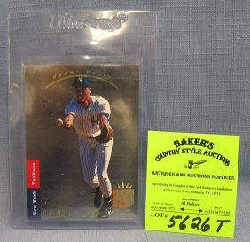 Upper Deck Derek Jeter Rookie Baseball Card