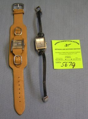 Pair Of Vintage Designer Wrist Watches Includes Guess