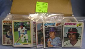 Topps Baseball Cards Includes All Star Sets