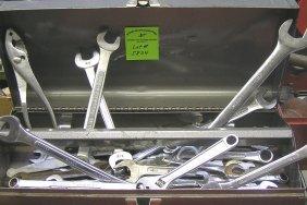 Large Box Of Mechanics Tools