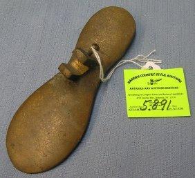 Solid Brass Cobblers Shoe Rest