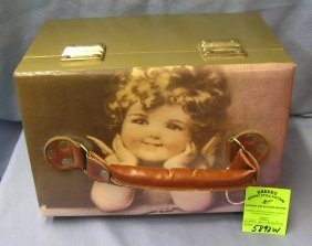Bessie Pease Gutmann Artist Signed Jewelry Tote