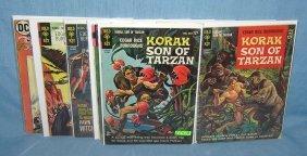 Collection Of Korak, Son Of Tarzan Comic Books