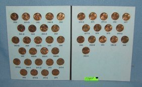 Lincoln Memorial Penny Collection