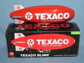 Texaco Blimp Limited Edition Cast Metal Bank