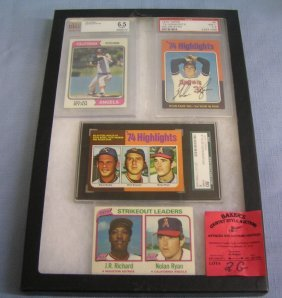 Nolan Ryan Baseball All Star Cards