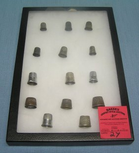 Collection Of Early Thimbles