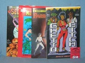 Group Of 4 Underground Comic Books