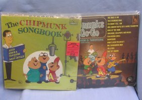 Group Of Vintage Children's Records